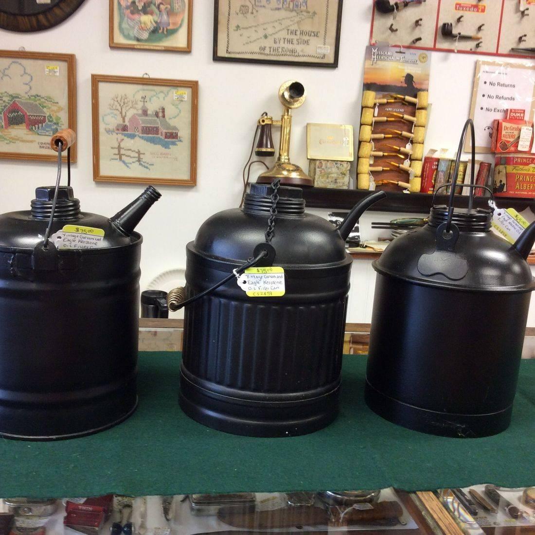 Vintage Eagle Kero/OilFiller Cans   $65 - $75.00