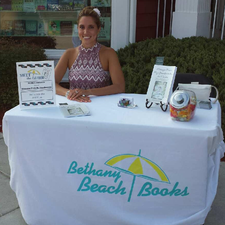 Andrea R Freeman, Author, Messages From My Grandparents In Heaven, Bethany Beach Books, Book Release, Book Signing, Book Discussion