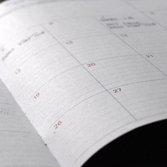 TV Office Management retainer Diary planner