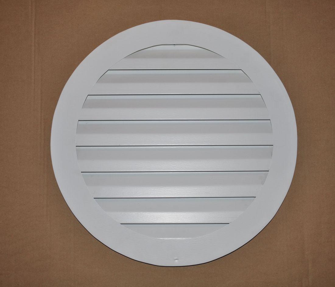 Round gable vent
