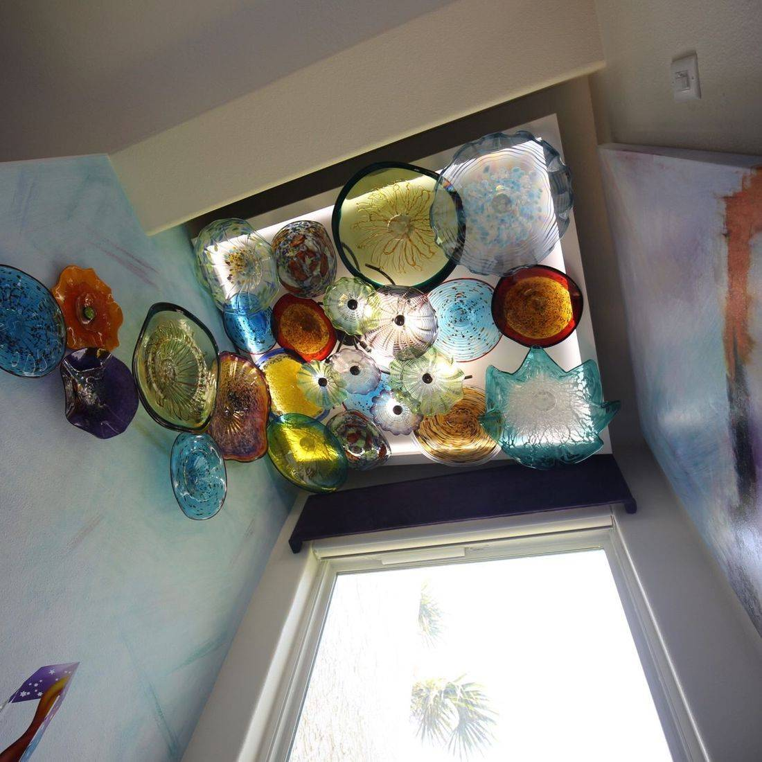 Blown Glass Ceiling Art