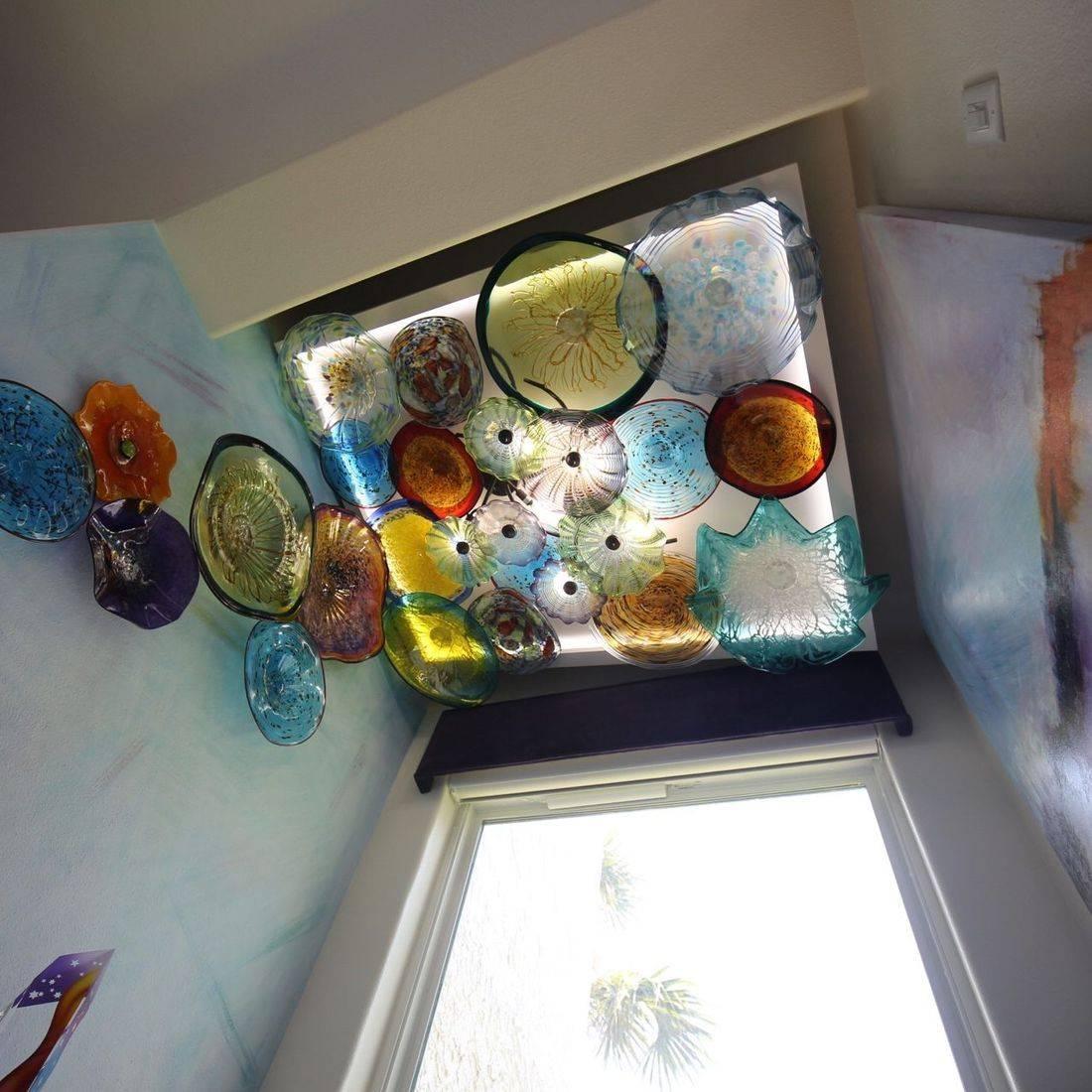 Blown Glass Ceiling Art