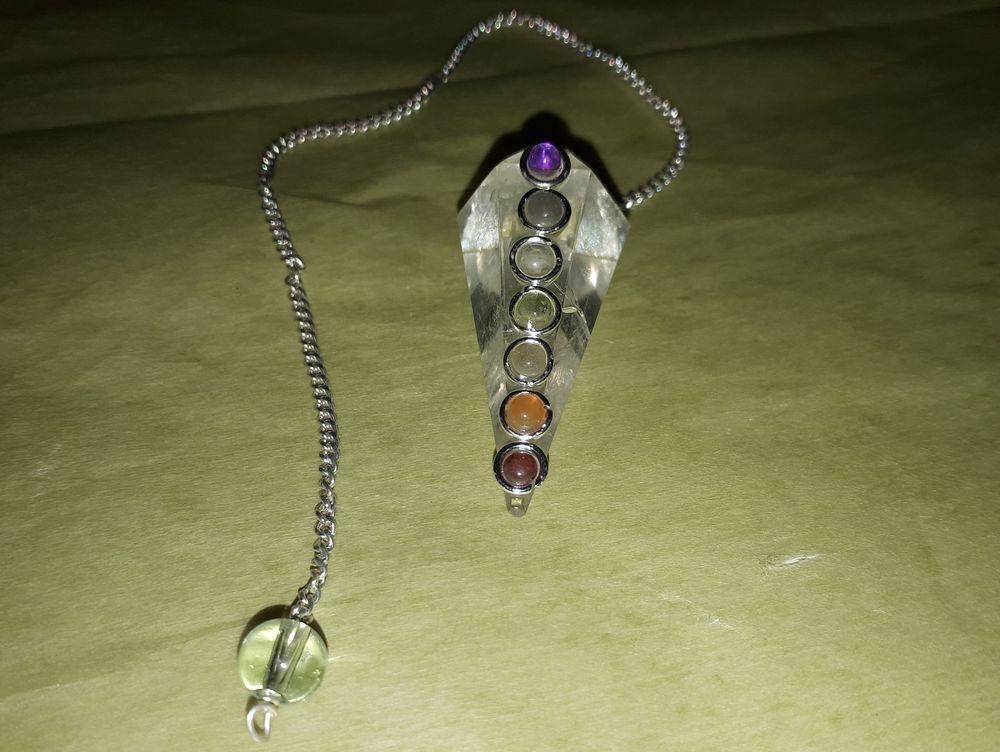 Quartz Chakra Stones Pendulum Wholesale