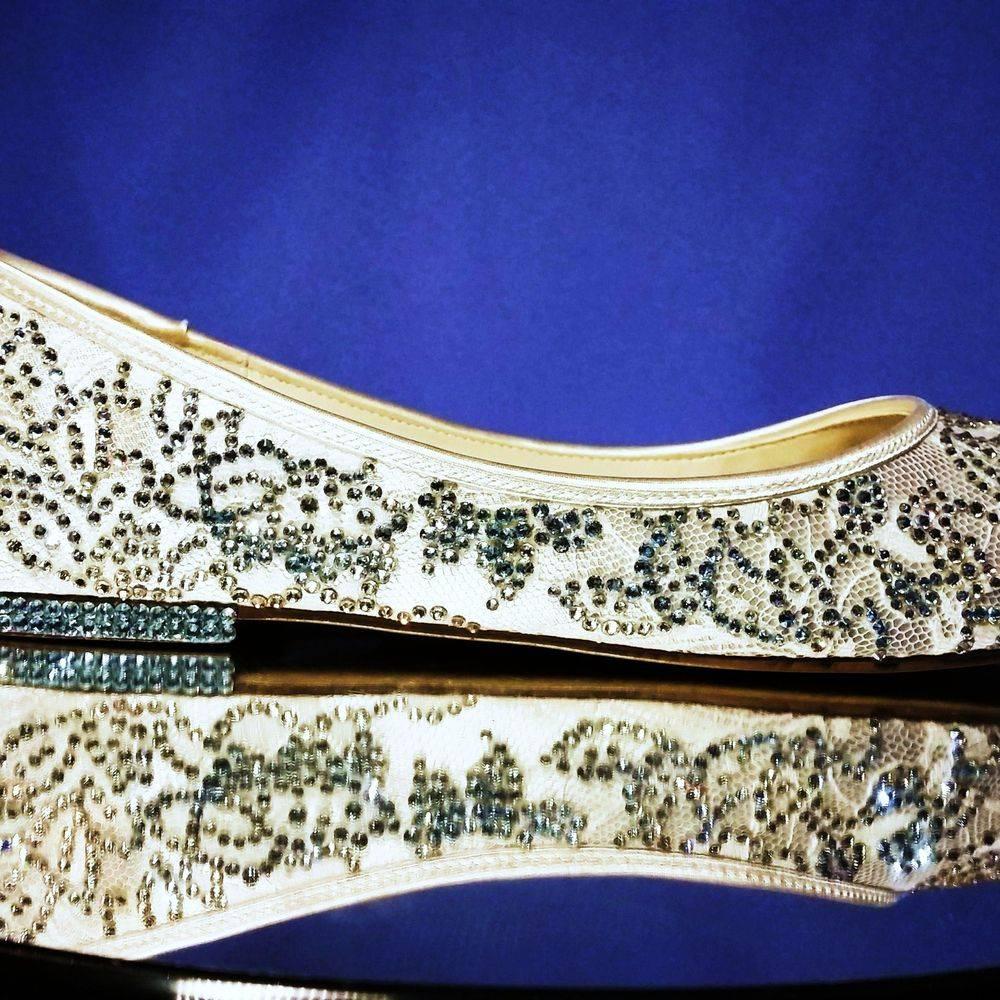 customised bespoke custom order embellished wedding bridal bride shoes nicky rox