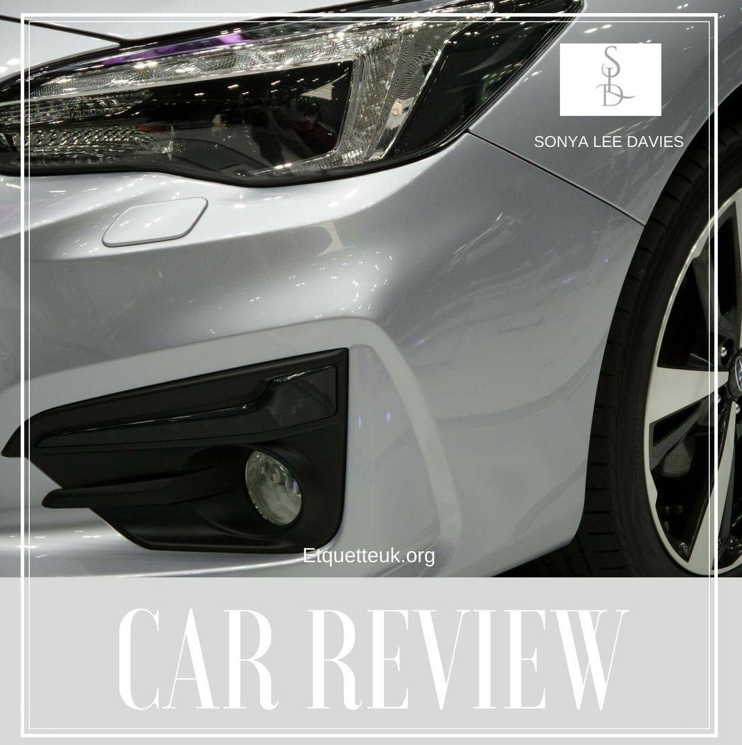 CAR REVIEW BY SONYA LEE DAVIES