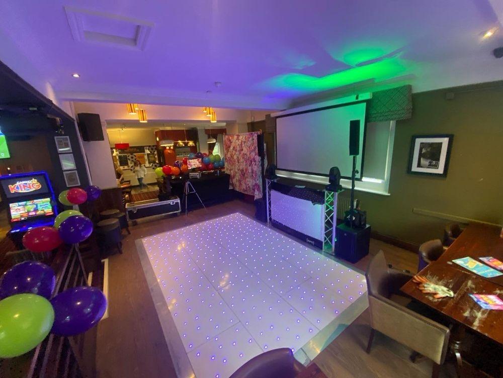 DJ Ollie Clarke LED Dancefloor Photobooth DJ Disco