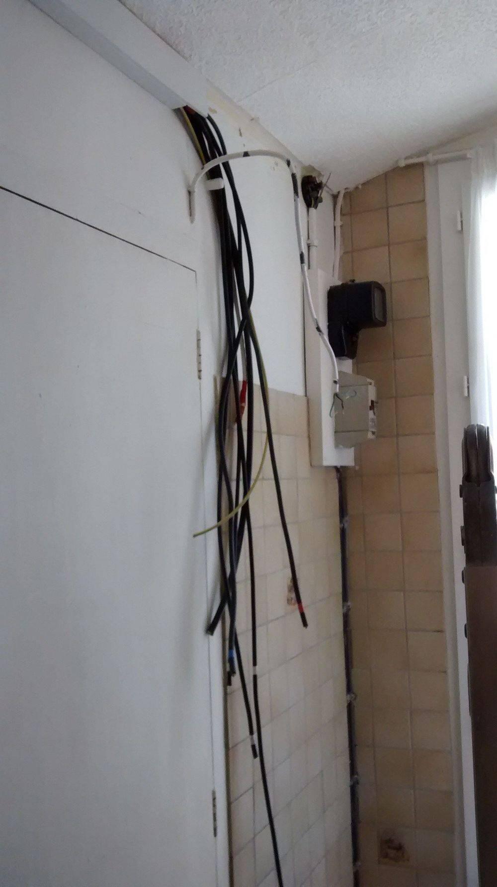 Point de regroupement des circuits pour tableau électrique.