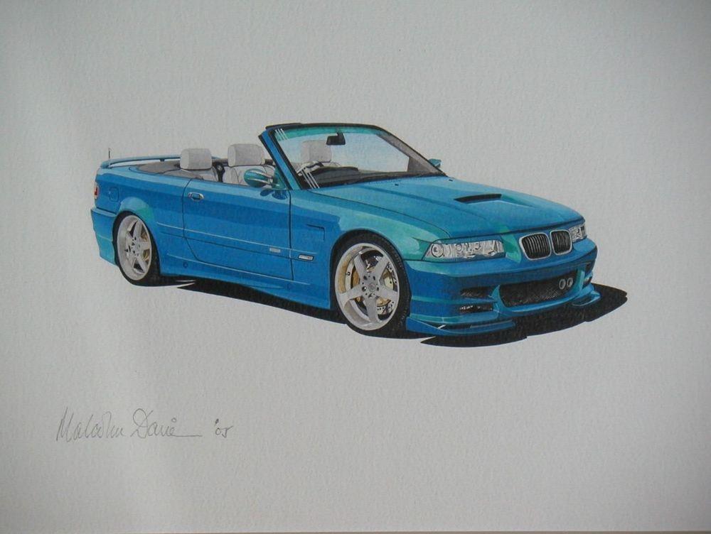 BMW (Acrylic) : Commission UK