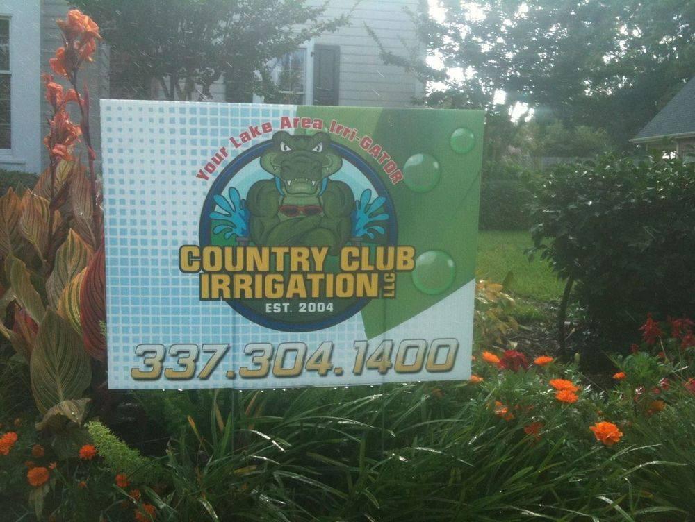 Country Club Irrigation Sprinklers