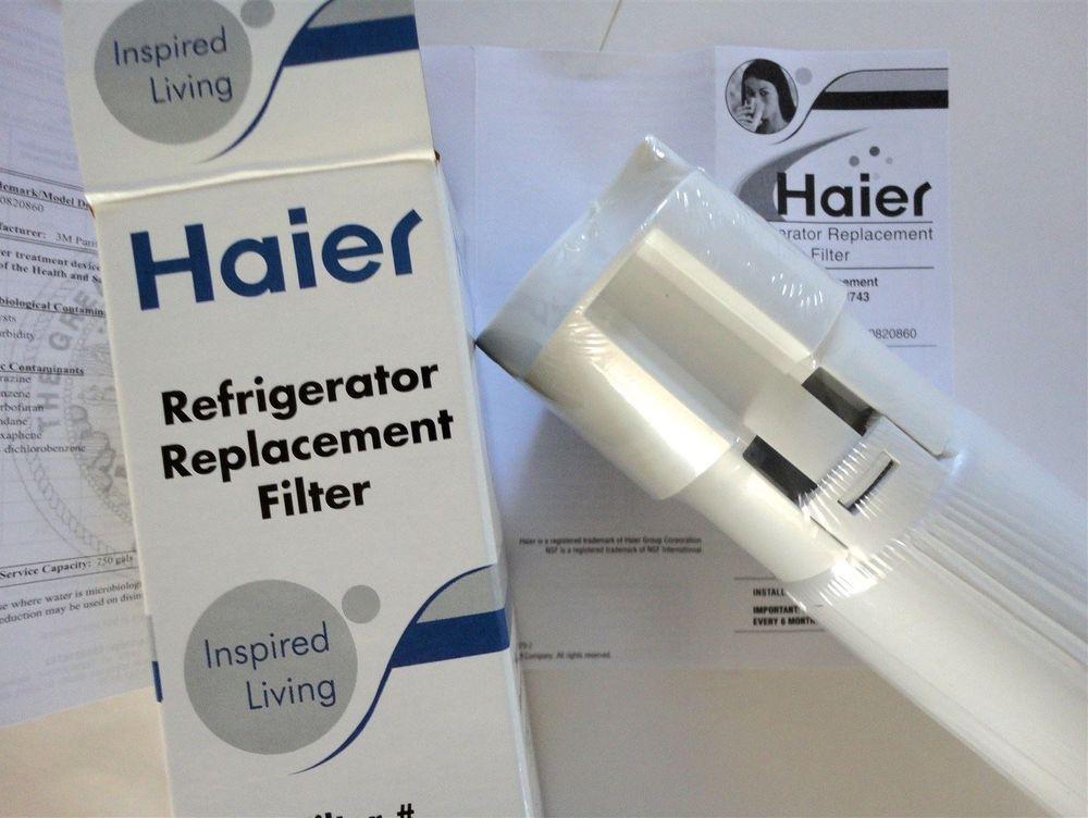 Haier - 0060218743 - refrigerator fridge ice water filter cartridge sold at www.aaafilterfast.com