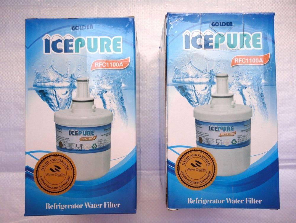 Samsung IcePure RFC1100A & RWf100A replacement fridge water filter cartridge - www.aaafilterfast.com