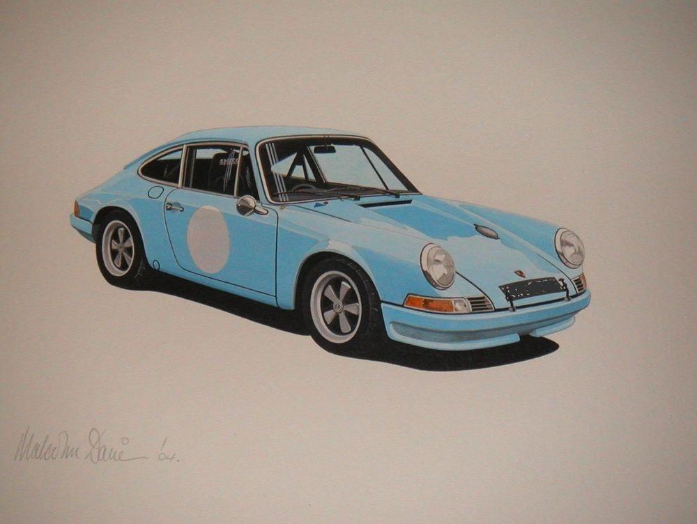 Porsche 911 Carrera  (Acrylic) : Commission (UK)