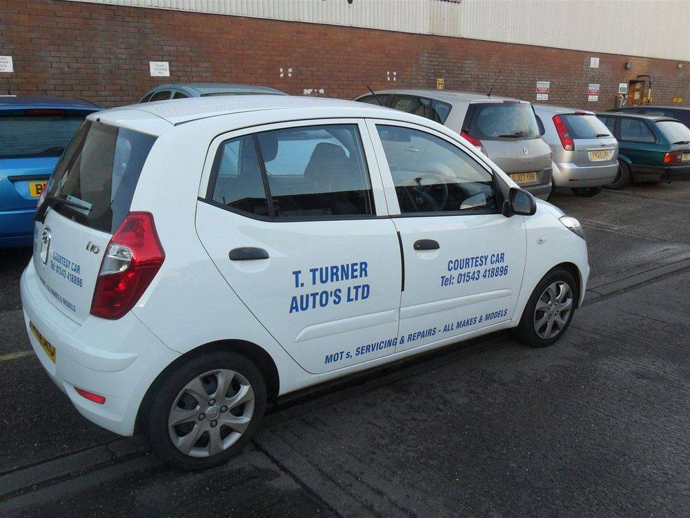 Courtesy Car / Collection Service in and around Lichfield
