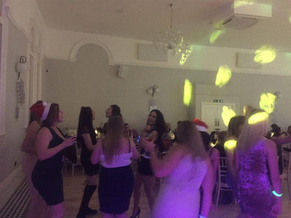 Corporate Christmas Party in Didsbury. Glynn Tee - Professional DJ - Christmas Party DJ