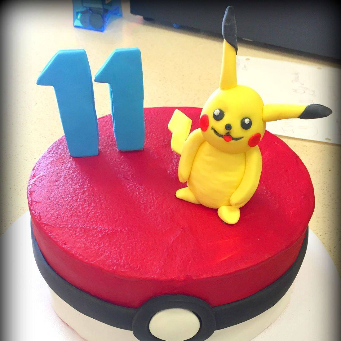 pokemon birthday cake pikachu cake pokemon ball cake