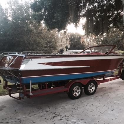 Florida Streblow refinish by Bergersen Boat