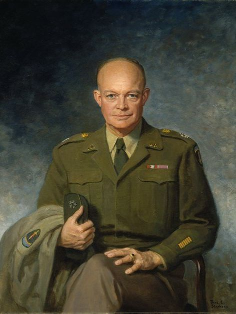 eisenhower, ike, wwii, war is my business, military theory, business theory