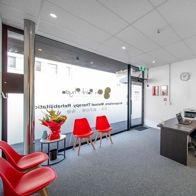 On Point Physio Ltd. - Epsom Waiting Room