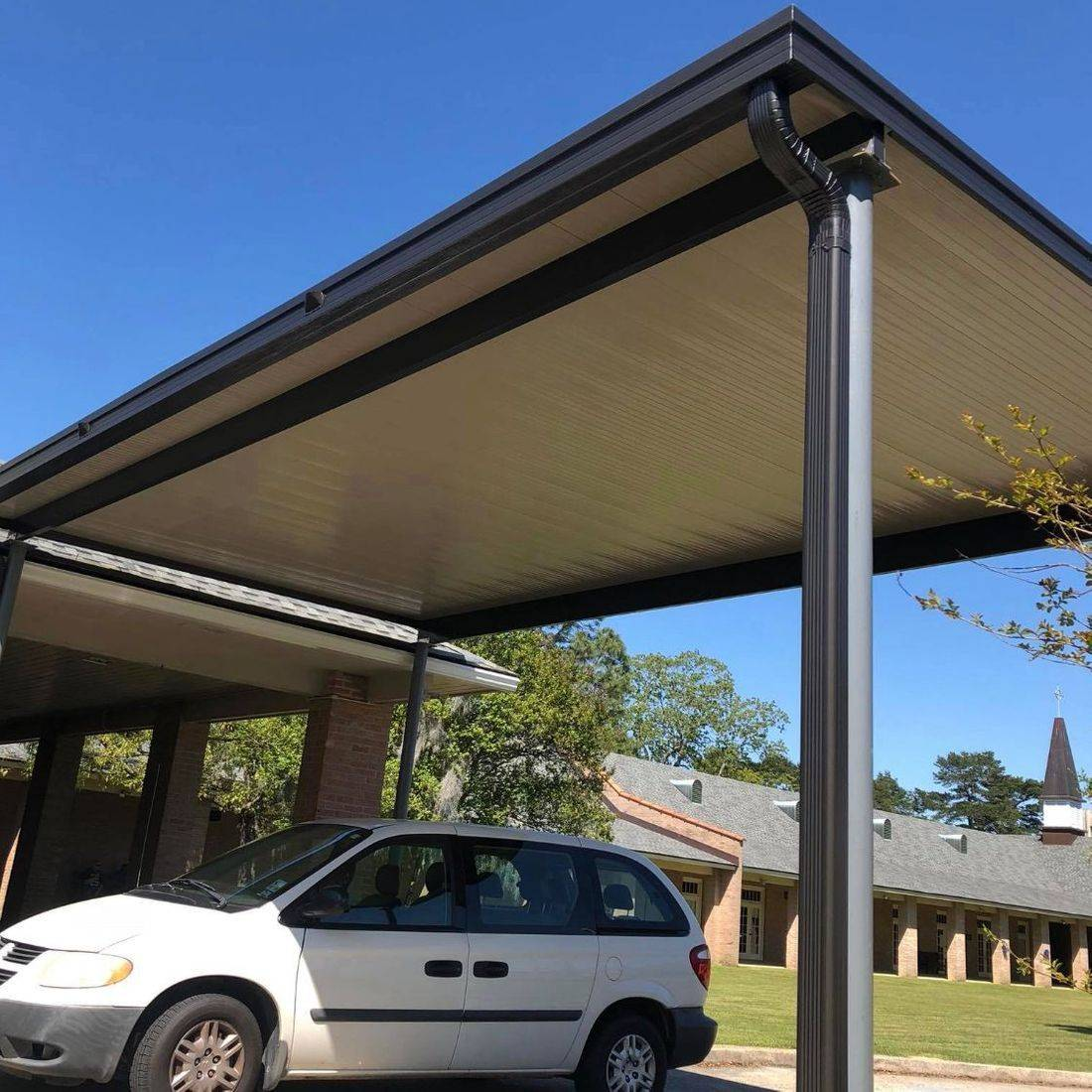drive-through canopy