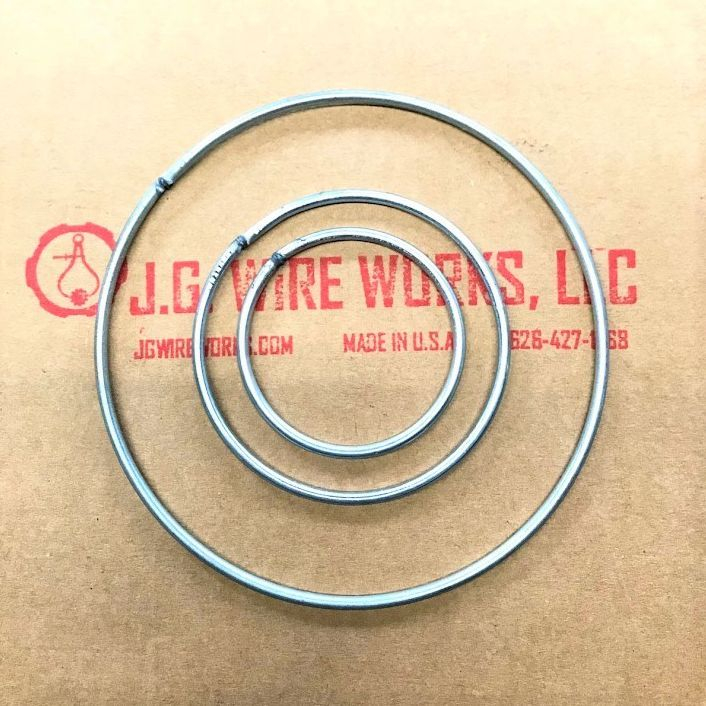 welded wire o-rings