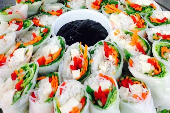 Vegan Vietnamese Spring Roll