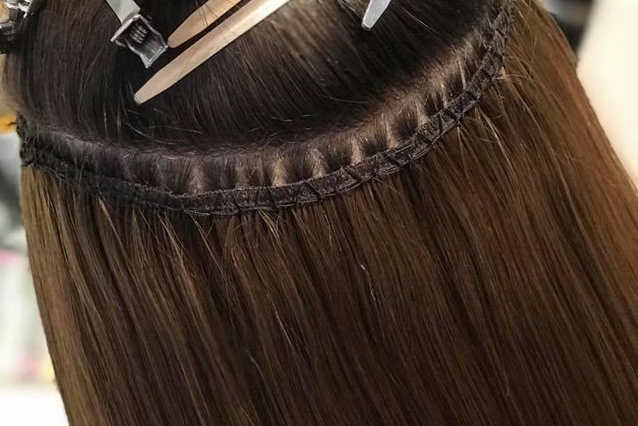 Close up of The Hollywood Weave