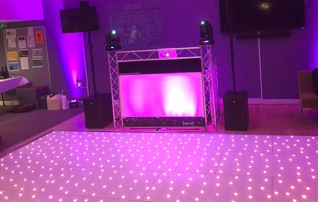 Dancefloor Hire Stourbrisge LED tWINKLE Sparkle