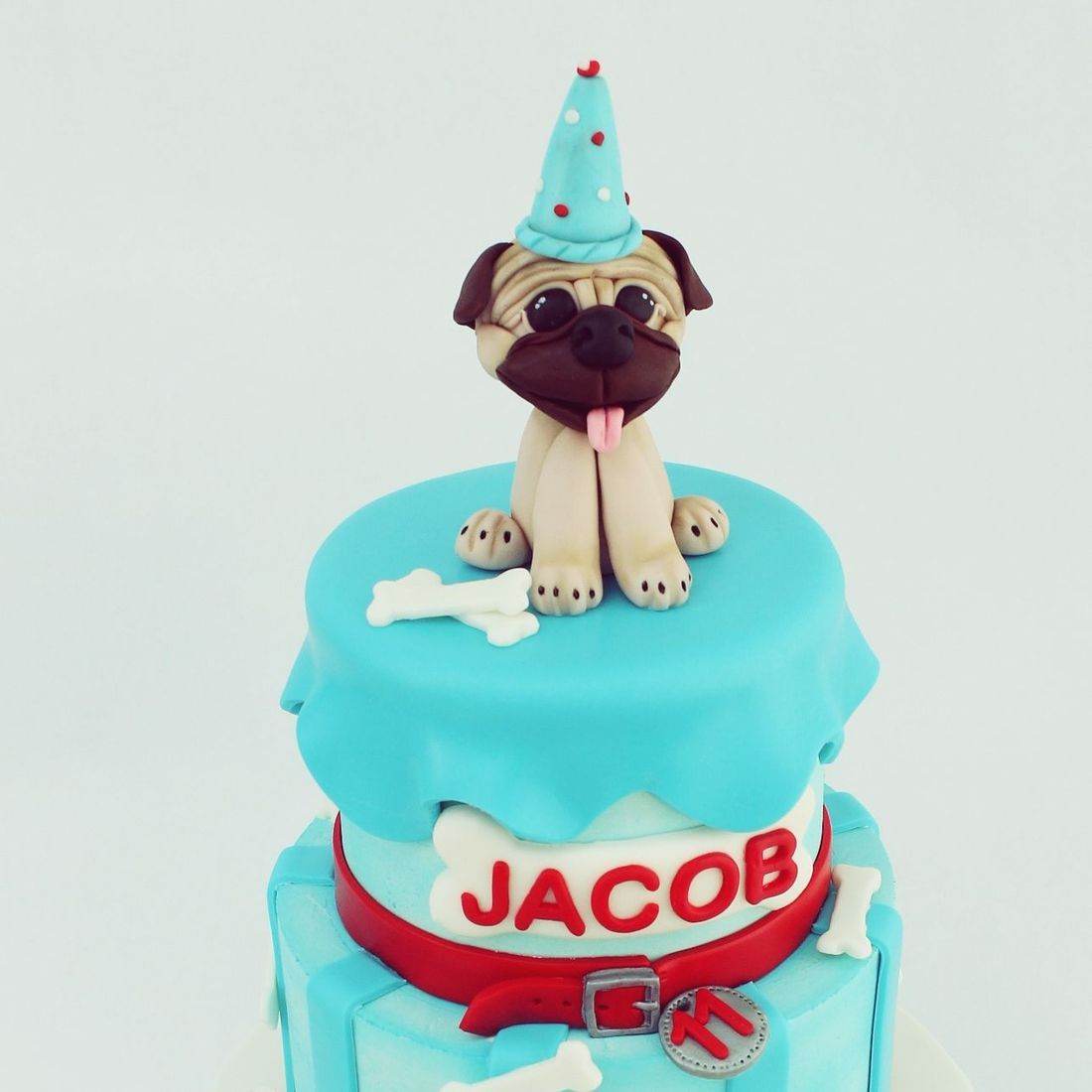Pug  Cake Milwaukee