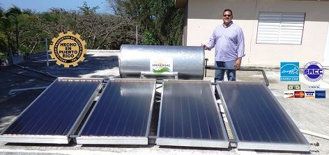 Calentador Solar Comercial Puerto Rico