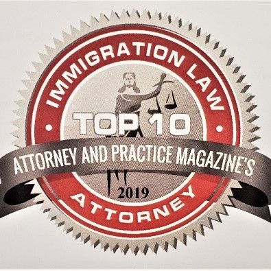 Top 10 Immigration Lawyer By Attorney and Practice Magazine