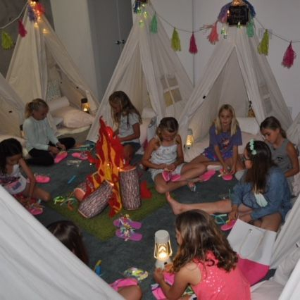 kids party rentals, teepee rentals, party rentals, kids birthday party, kids party planner, kids birthday parties, teepees, indoor camping, Newport Beach, CA, Orange County
