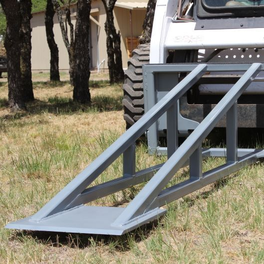 non hydraulic multi function skid steer attachment