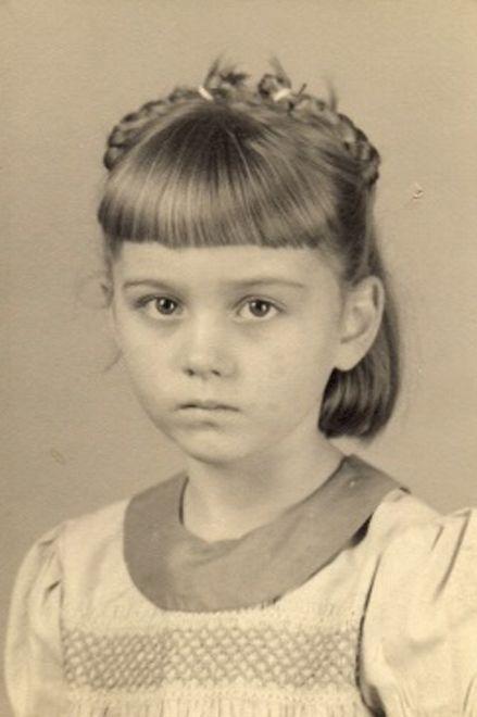 Patsy M Henry, a childhood photo