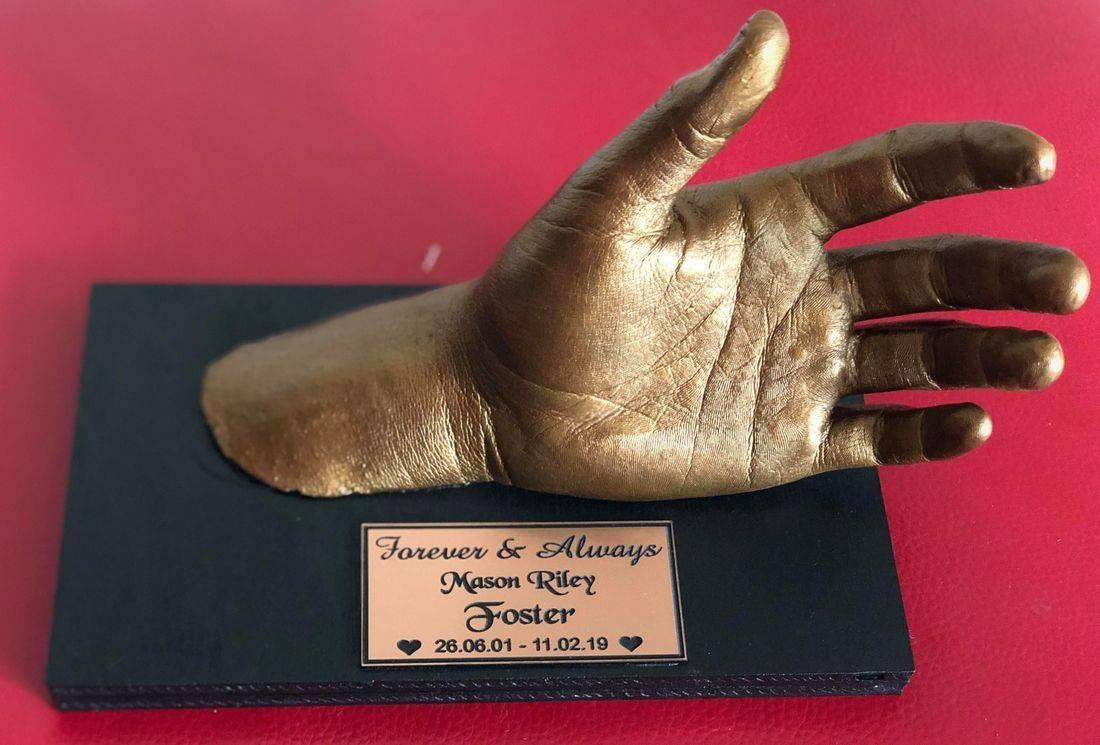 Mason hand cast