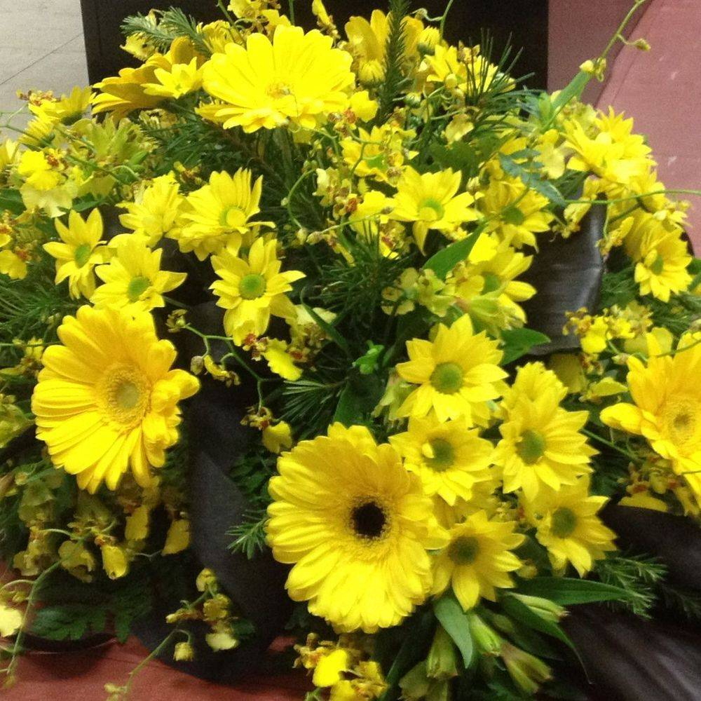 Sympathy flowers from My Florist