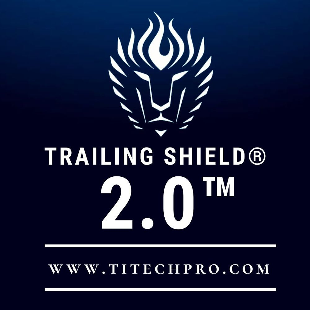 titech pro trailing shield 2.0, made in norway, titanium, hft