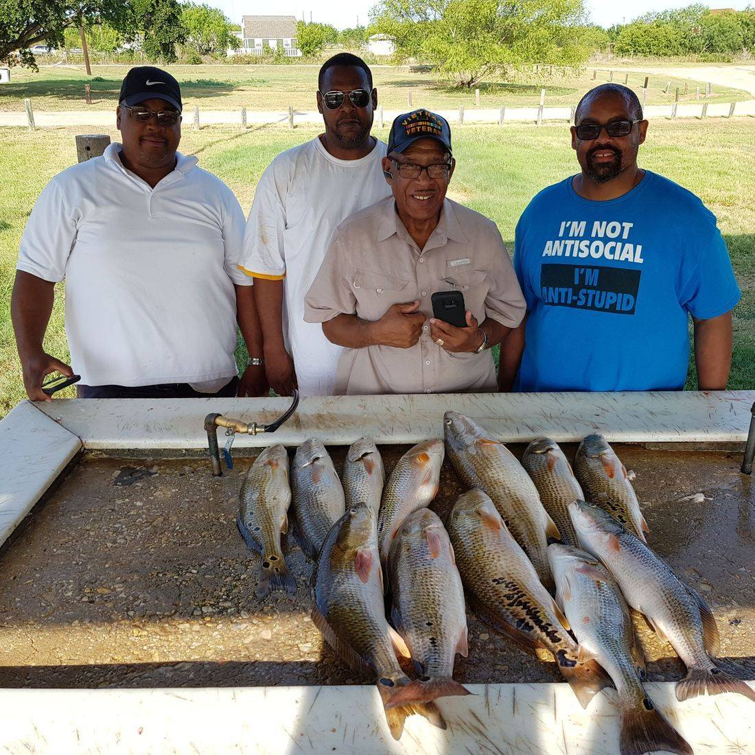Calaveras Lake fishing San Antonio , Texas