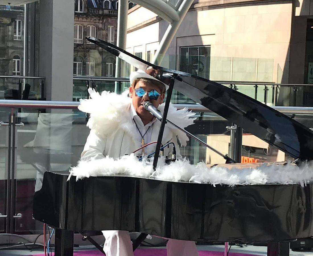 Rocketman Elton John tribute Andy Crosbie