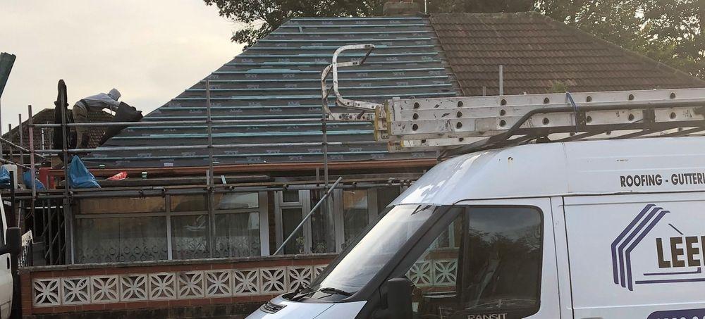 roof repairs in Leeds