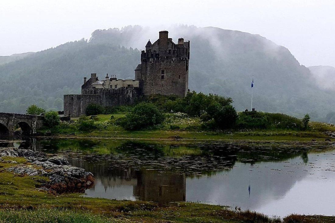 Eilean donon castle part of our tour