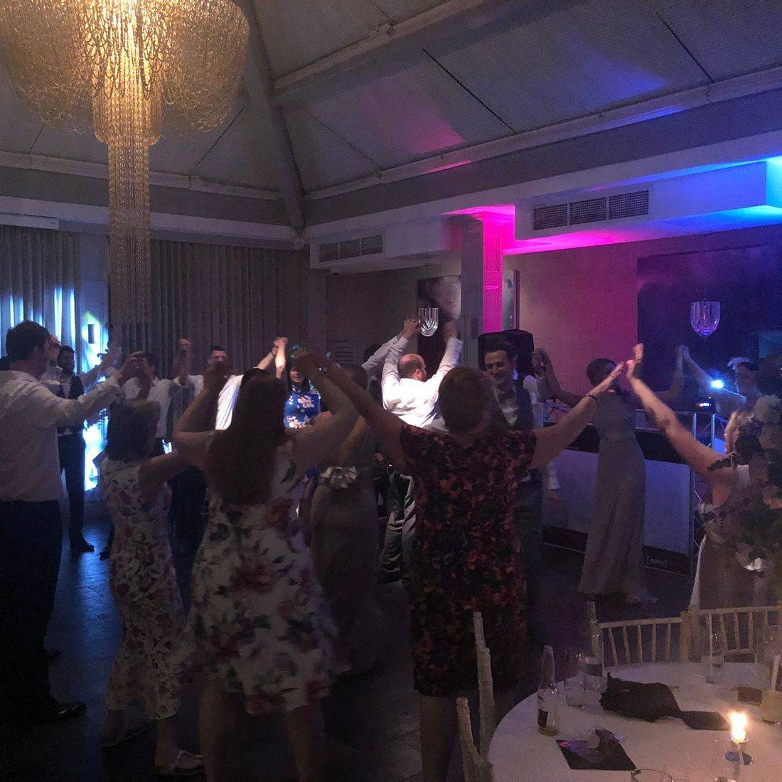 Hampton Manor Wedding Venue DJ Ollie Clarke