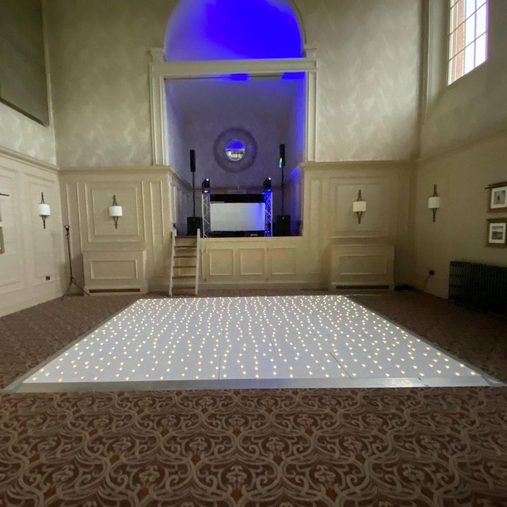 Stanbrook Abbery Wedding Venue LED Dancefloor