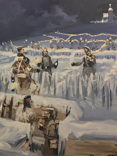 1914 truce, christmas truce, wwi, world war one, war is my business