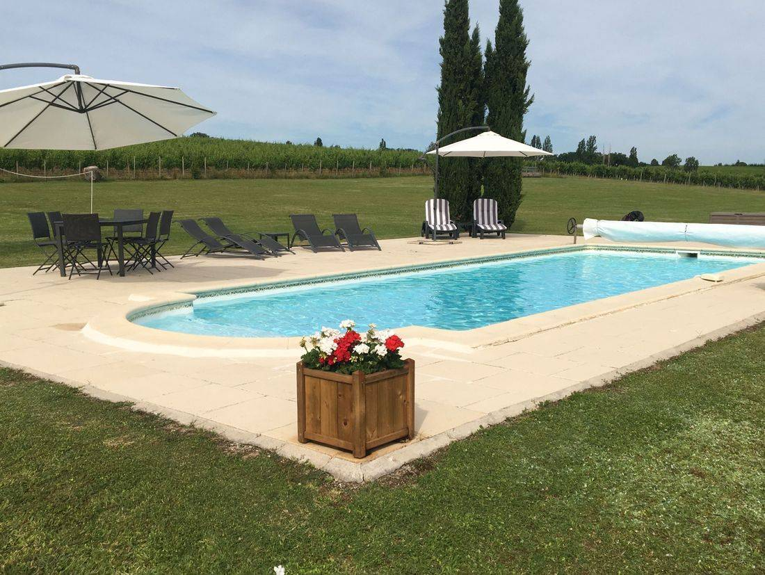 Six Berth Gite with private pool