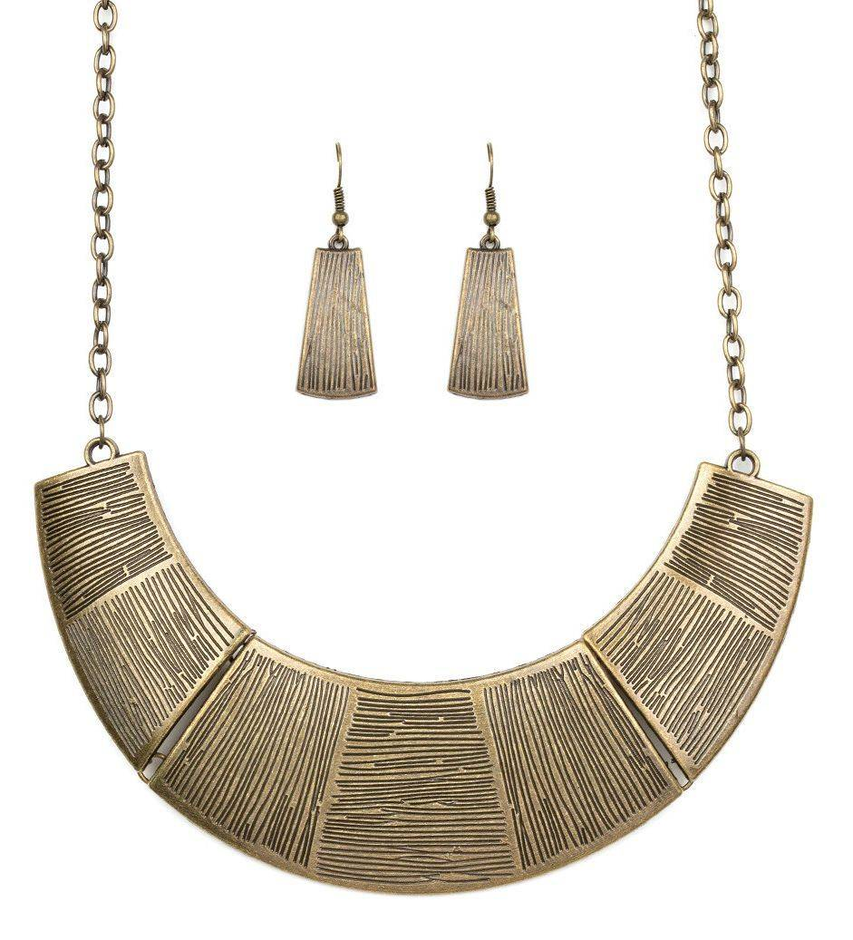 More Roar brass Necklace Set