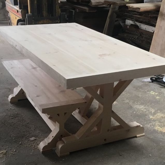 Kitchener Custom Trestle Table