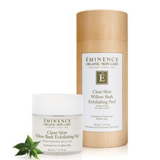 Eminence Clear Skin Willow Bark Exfoliating Peel, eminence barrhaven, buy eminence ottawa