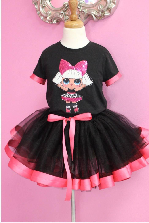 tutu, lol dress, birthday tutu, little girls