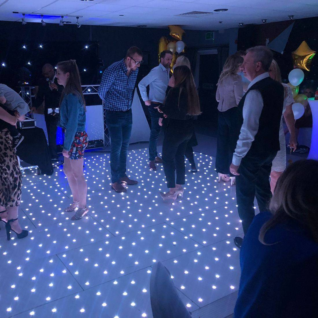 Birmingham  Wedding DJ & LED Dancefloor  Ollie Clarke