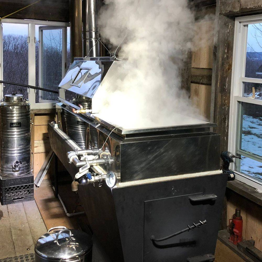 Steinbock Farm Maple Syrup Evaporator